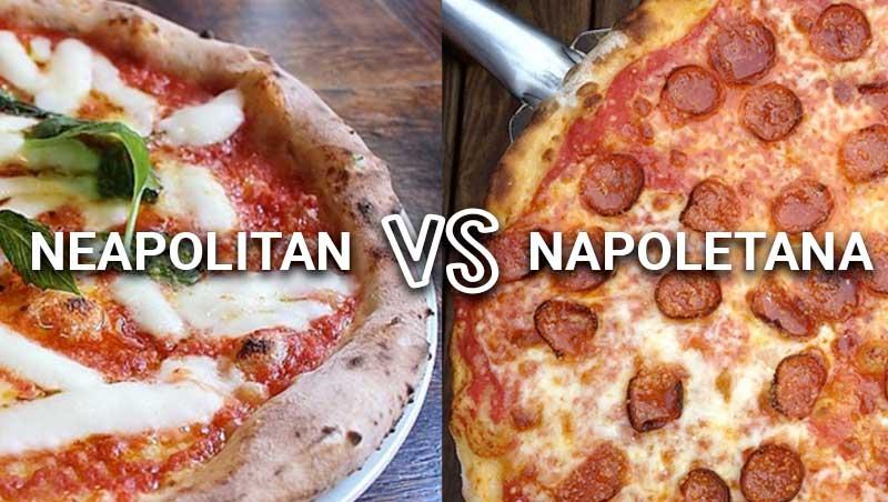 Neapolitan vs. Napoletana Pizza